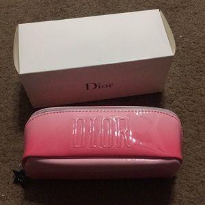 Original Dior makeup bag